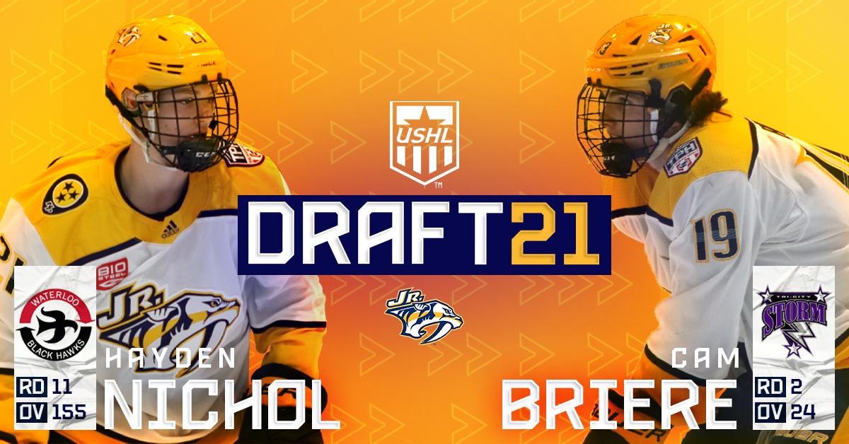 NJP USHL Draft Cover